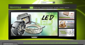 Create an online store for marketing energy-saving equipment, instrumentation, recording and commands.