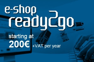 Setting up an e-shop Ready 2Go