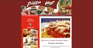 web site for pizzeria in Agiokampos Larissa