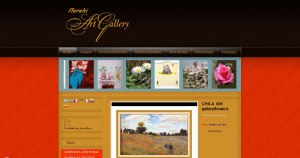 Construction e-shop for art gallery, paintings, artwork, religious paintings