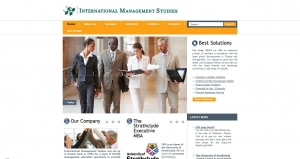 website creation for International Management Studies
