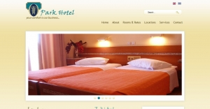 Website for a Hotel in Athens