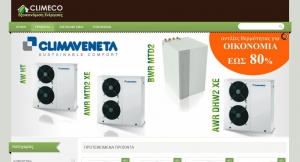 Online store for air conditioners and heat pumps climeco.gr