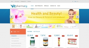 e-shop website vitpharmacy.com